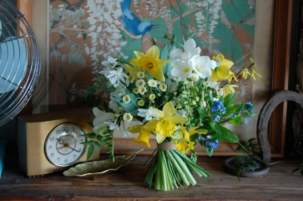 Spring bouquet by The Monkey Flower Group