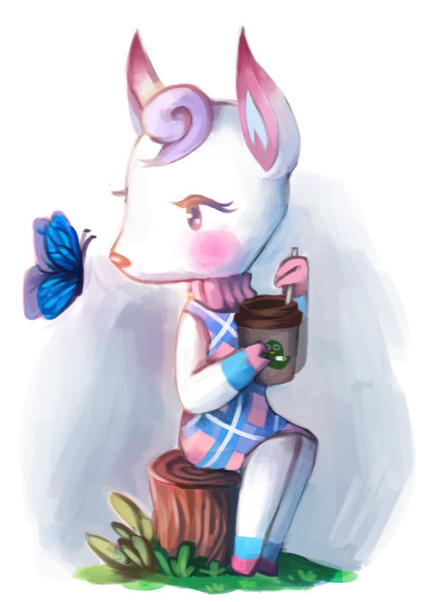 diana animal crossing deer villagers