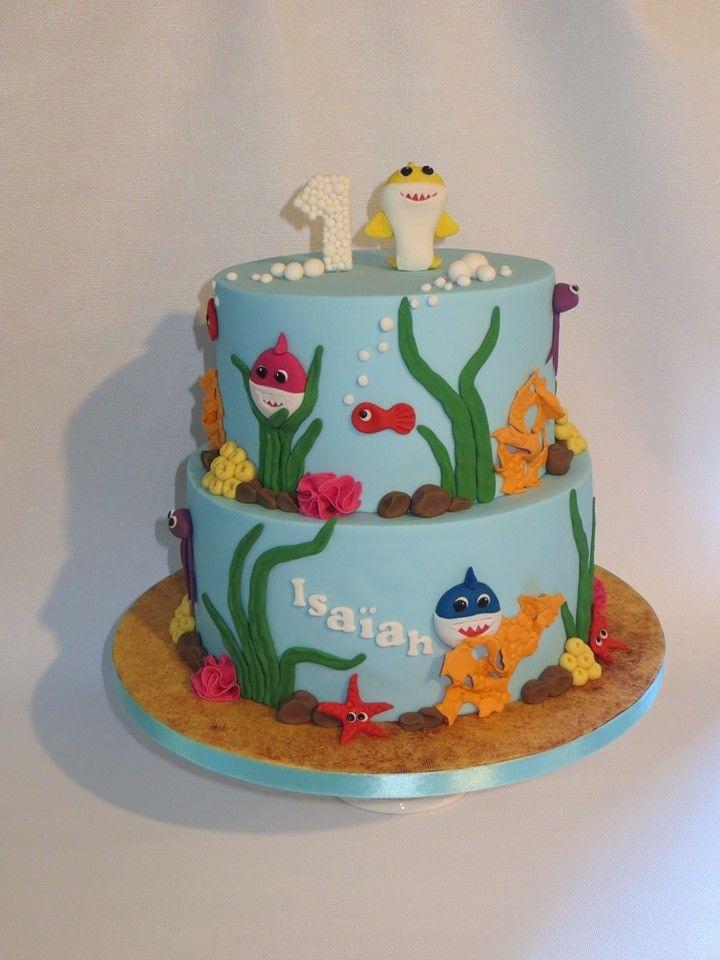 Baby shark cake by mandy cake baby shark