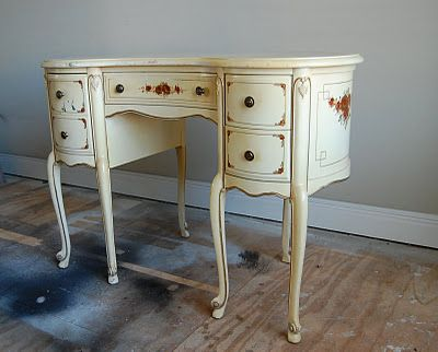 French Provincial Ladies Desk