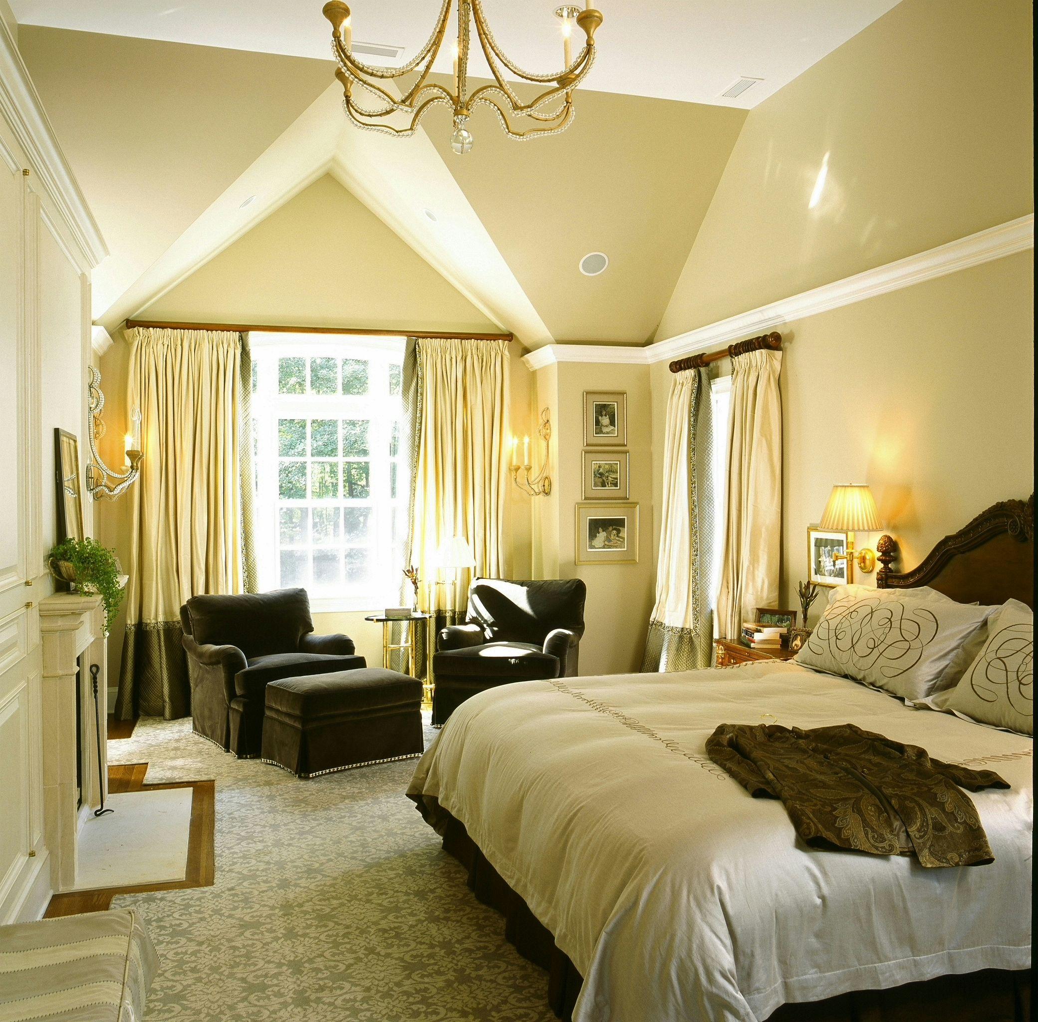 Beautiful Bedroom Sitting Areas: Master Bedroom Inspiration, Yellow Bedroom