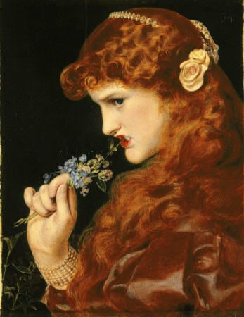 Pre Raphaelite Art Frederick Sandys Love S Shadow Pre
