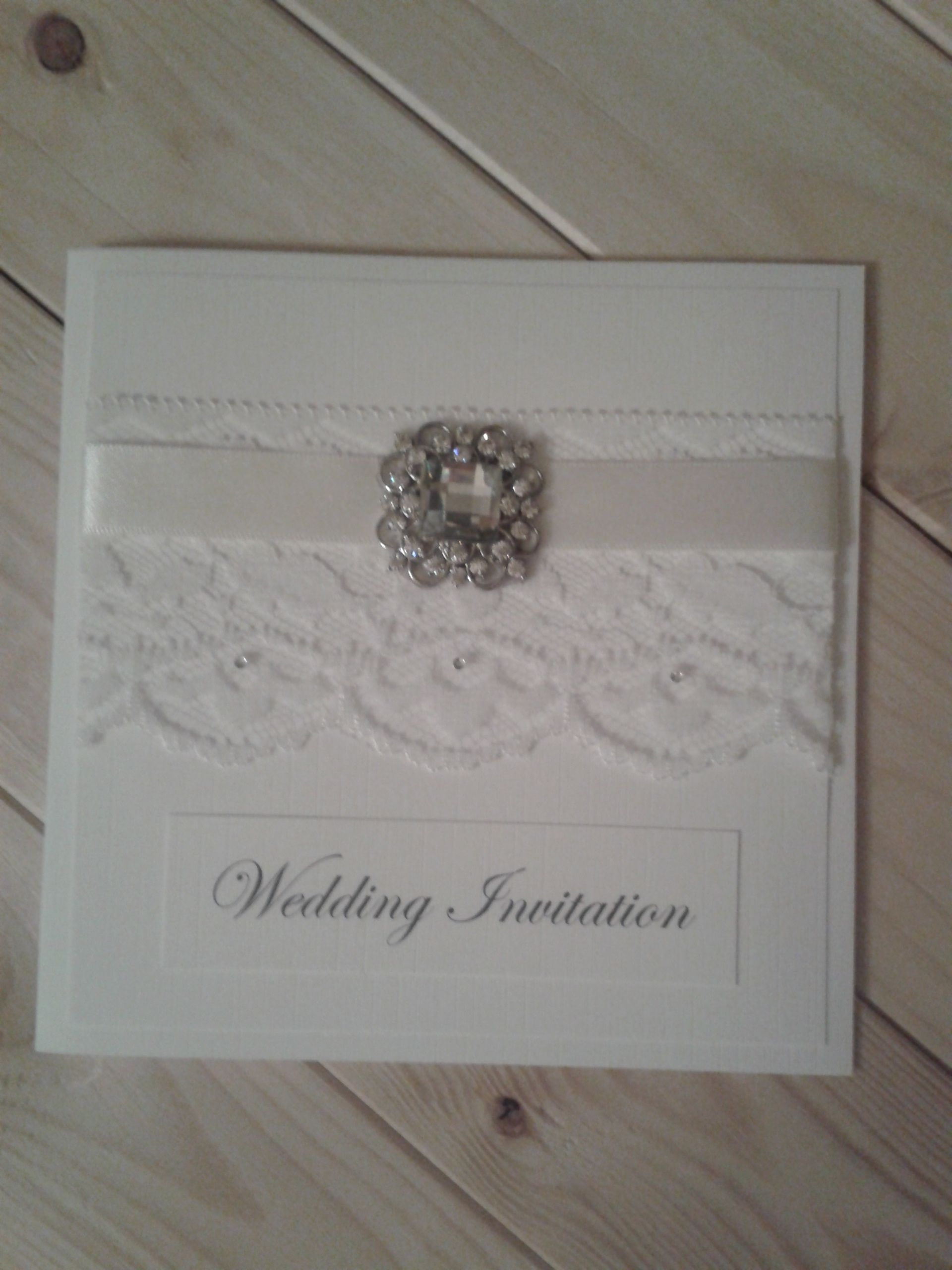 Beautiful Wedding Invitation from www.thedayofourdreams.co.uk