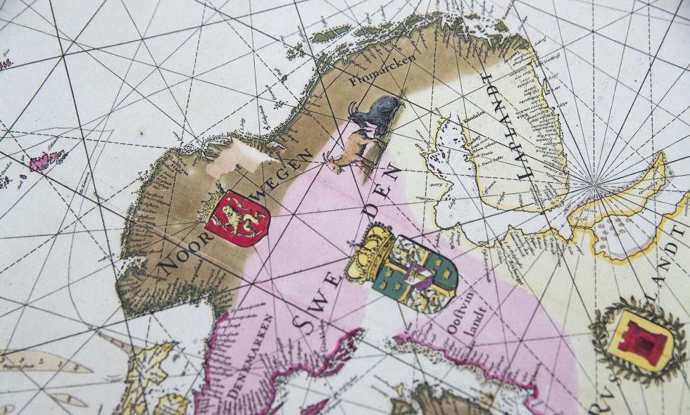 kart over nordområdene SKATT: Verdens største private samling av kart over Norge og  kart over nordområdene