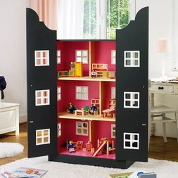 bauanleitung selbstgemachtes puppenhaus dollhouse pinterest bauanleitung. Black Bedroom Furniture Sets. Home Design Ideas