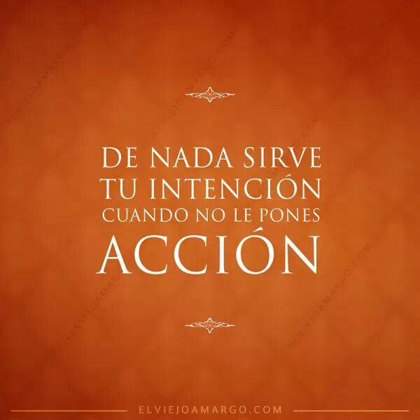 Intención y acción