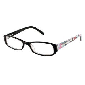 hard candy 5017135 womens optical frames black