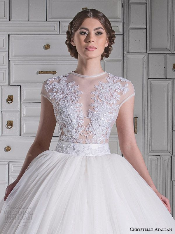 Chrystelle Atallah Spring 2014 Wedding Dresses | Wedding, Sleeve ...