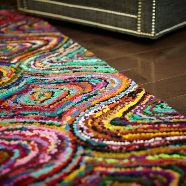 Recycled Cotton Rug Uniquely Modern Rugs
