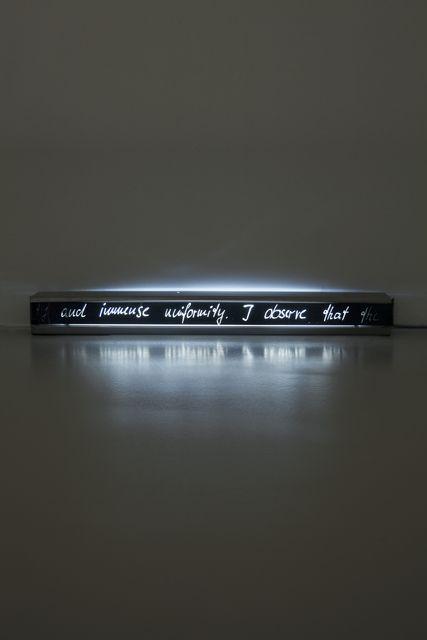 Rosa Barba, 'Footnote (...I observe that the pleasure...),' 2013, Meyer Riegger