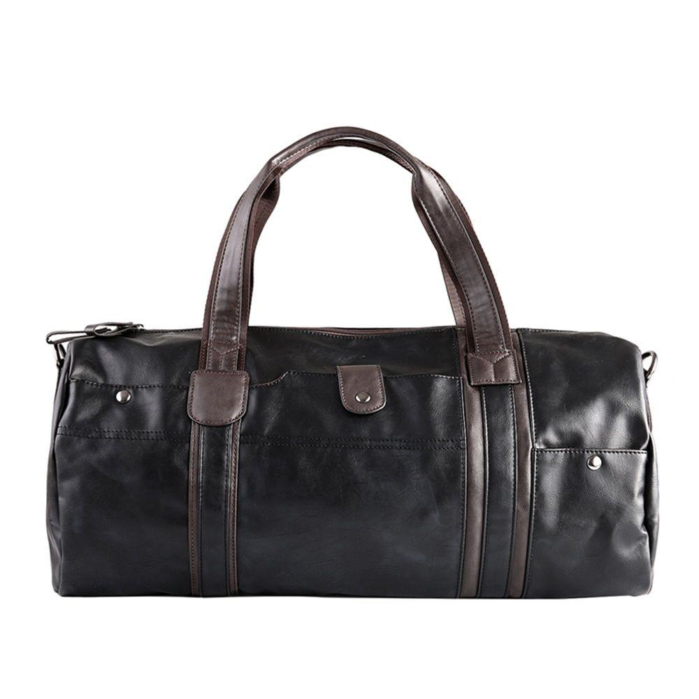 04b9f8a67934 10L Soft PU Leather Men s Sport Bags Gym Bag Sports Designer HandBag Fitness  Bags Travel Case Workout Shoulder Bag 2-Colors