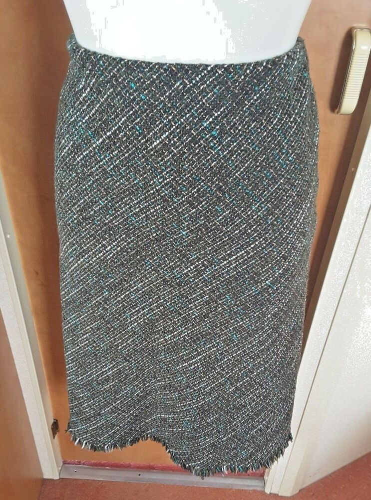 4a03ae7139 Marks & Spencer Wool Blend Green Tweed Mix Skirt Size 14 Land Girl Business  Work #fashion #clothing #shoes #accessories #womensclothing #skirts (ebay  link)