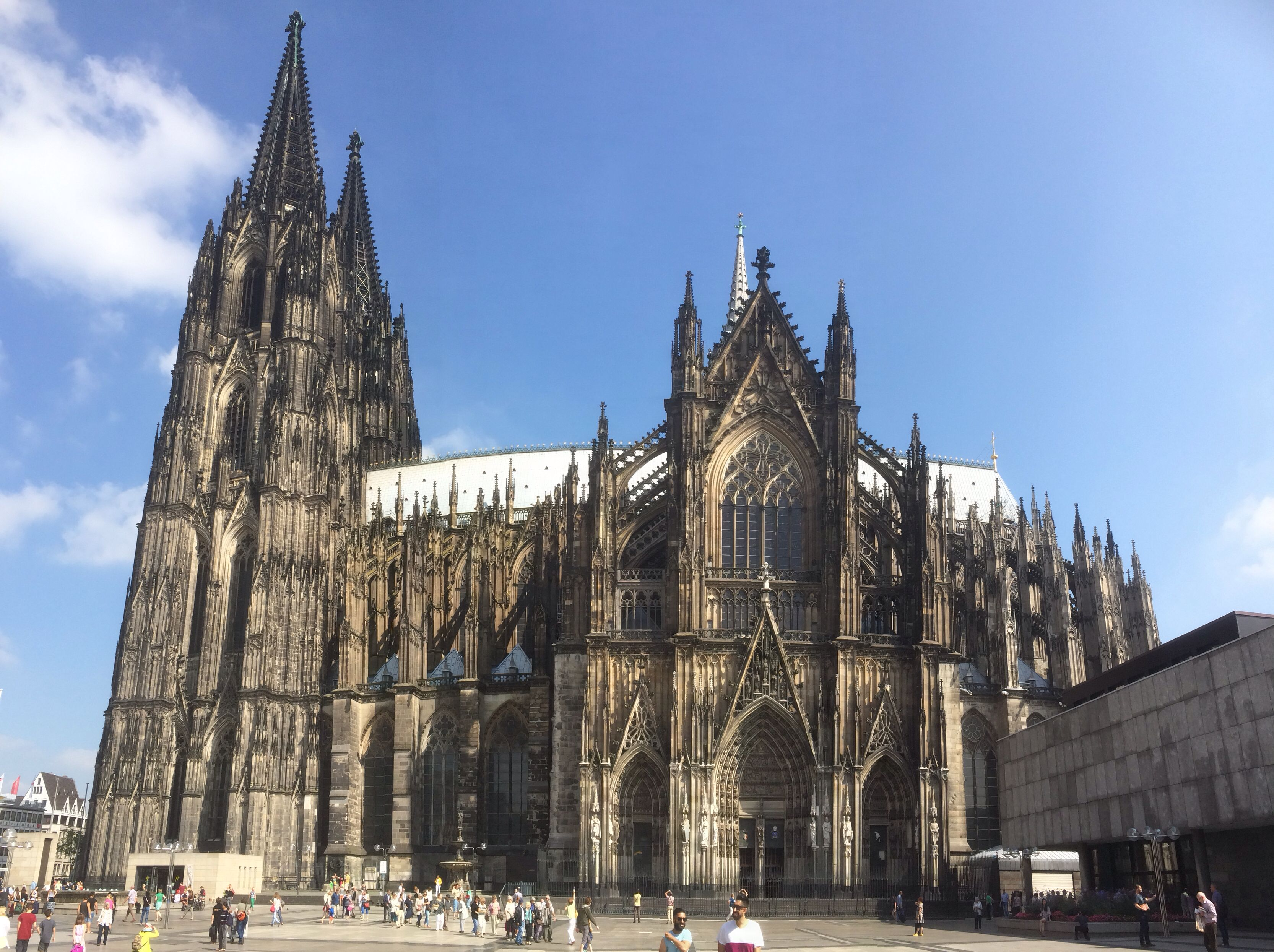 Cologne Dom Cathedral panoramic | Medeval Cathedrals | Pinterest ...