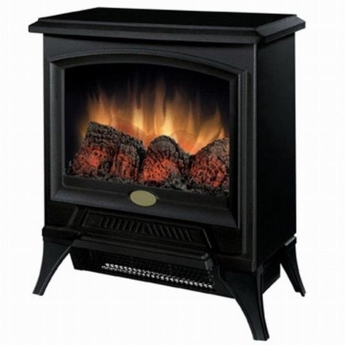 Electric Fireplace Heater Flame Stove High Low Heat Control