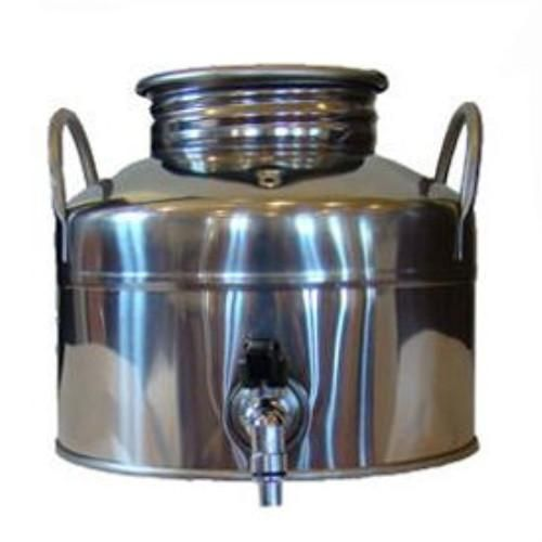 Superfustinox Stainless Steel Water Dispenser Fusti 5 Liter Water Dispenser Antique Milk Can Making Water