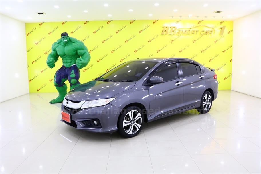 Merveilleux ขายรถเก๋ง HONDA CITY ฮอนด้า ซิตี้ รถปี2014 สีเทา รหัสประกาศ