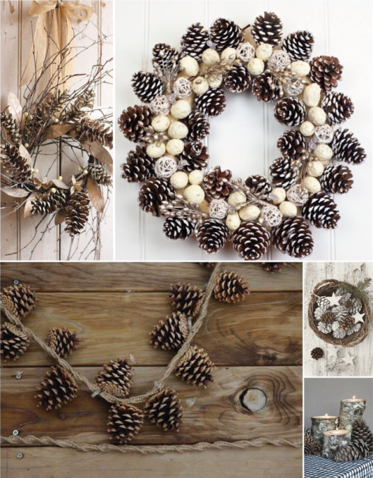 Decoraci n con pi as manualidades pinterest en - Decoracion con pina ...