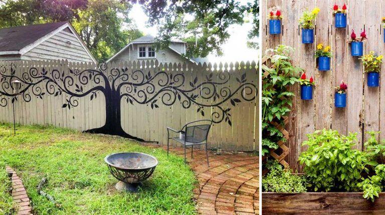 20 personas que convirtieron las cercas de sus patios traseros en