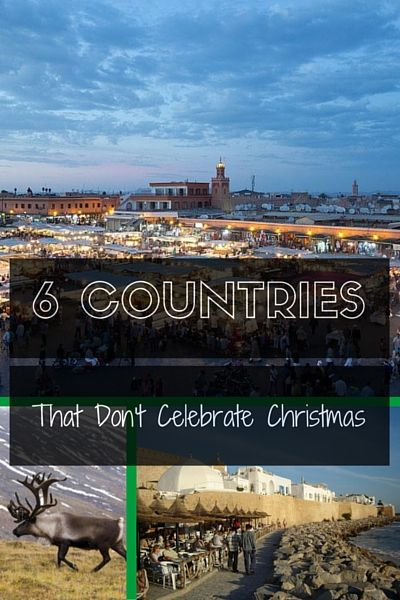 Countries That Don't Celebrate Christmas