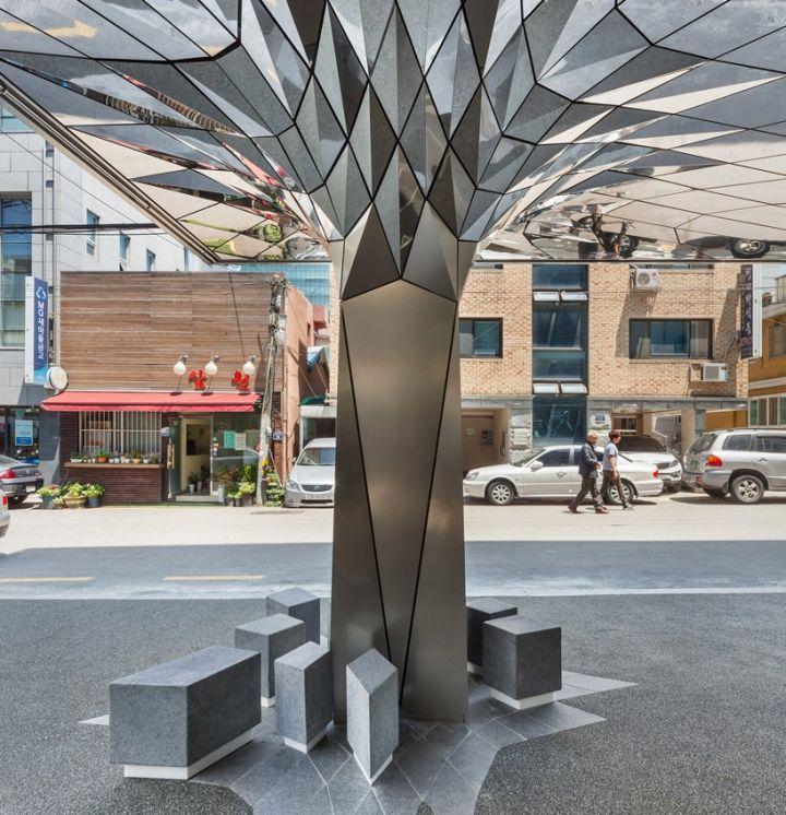 Communique headquarters café by DaeWha Kang Design, Seoul - Korea