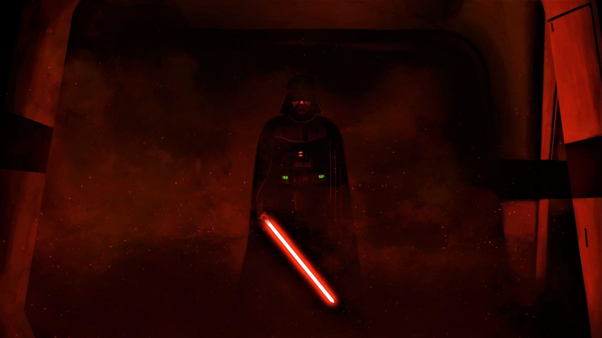 Star Wars Kylo Ren Wallpaper Star Wars Darth Vader Artwork Lightsaber People 1080p Wallpaper In 2020 Star Wars Wallpaper Darth Vader Wallpaper Darth Vader Artwork