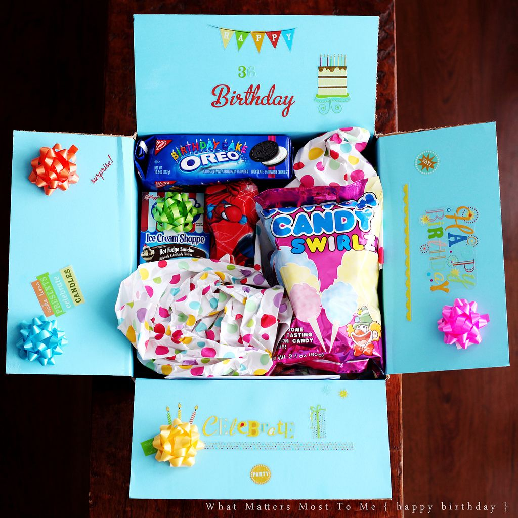 Birthdays, Gift And College