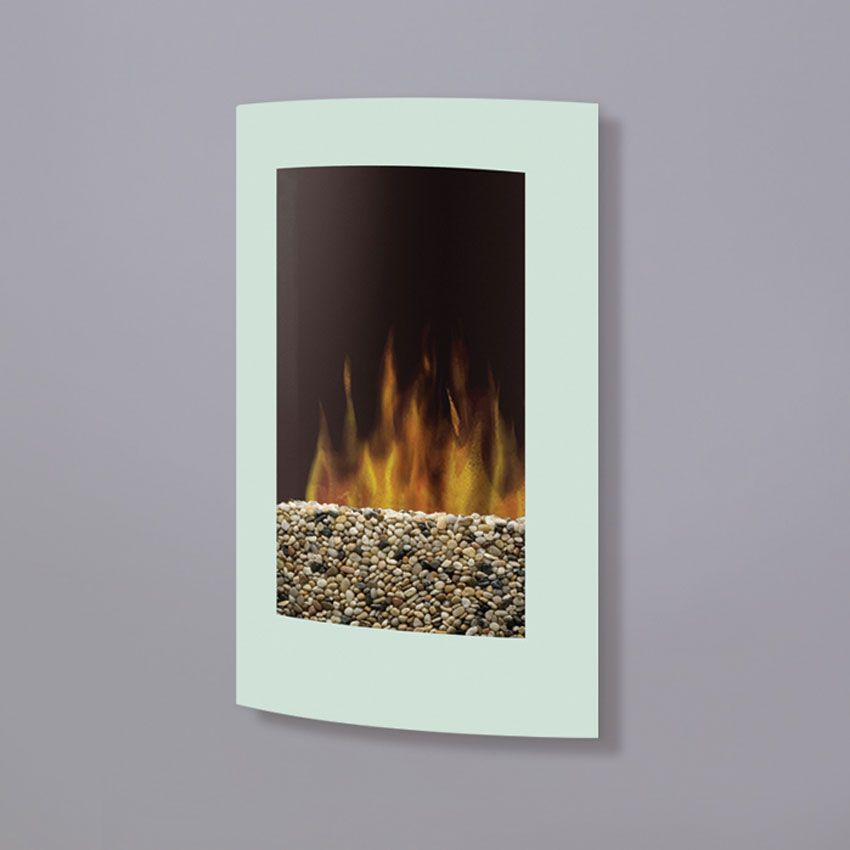 Dimplex Convex Wall Mount In White Vcx1525wh Wall Mount Electric Fireplace Small Electric Fireplace Hanging Fireplace