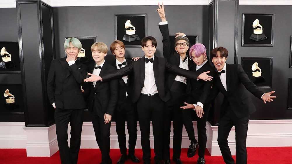 Let S Talk About The Western Music Scene K Pop With Images Grammy Mtv Bts