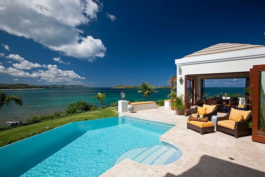 Serene caribbean rental villa design architecture and art worldwide