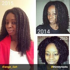 ThirstyRoots.com InstaFeature: @ange_liah shares the natural hair growth regimen she uses to grow and care for her thirsty roots.