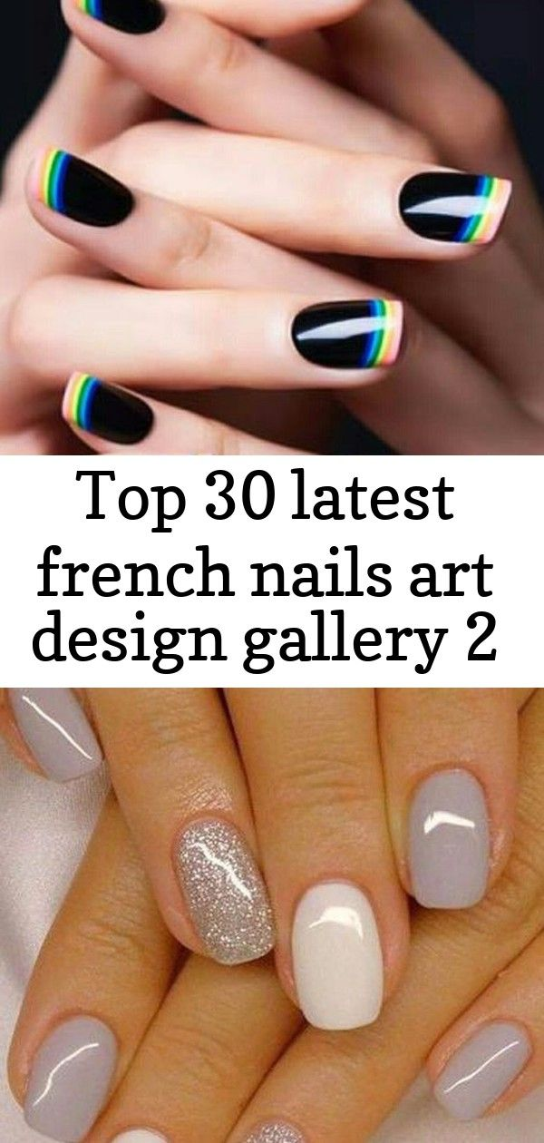 Top 30 latest french nails art design gallery 2
