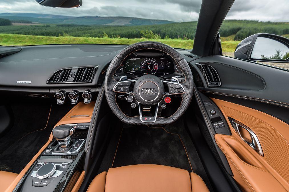 Audi R8 V10 Plus Spyder Interior