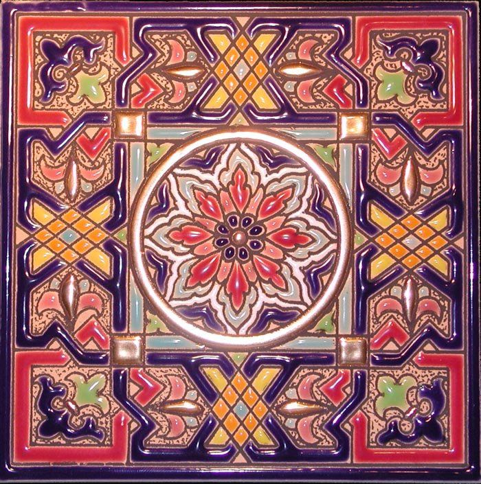 Decorative Tiles Decorative tile, Spanish style decor
