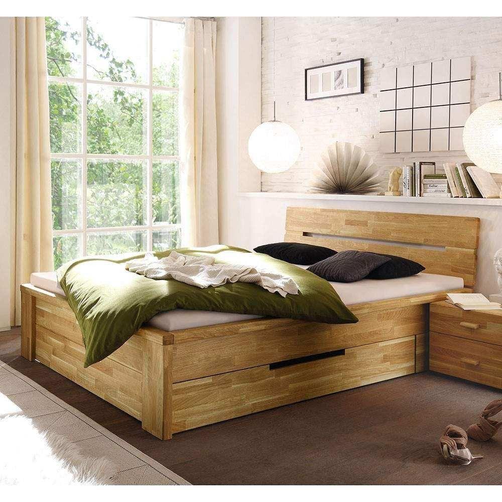 Holzbett Mit Schubladen Bett Mit Schubladen 140x200 Rauna Xl Holz Kiefer Massiv Mobel Fur Kleine Raume Bett Mit Schubladen Holzbett