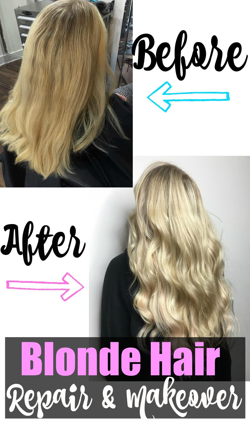 Blonde Hair Repair And Makeover With Extensions Mommy Makeover Pt