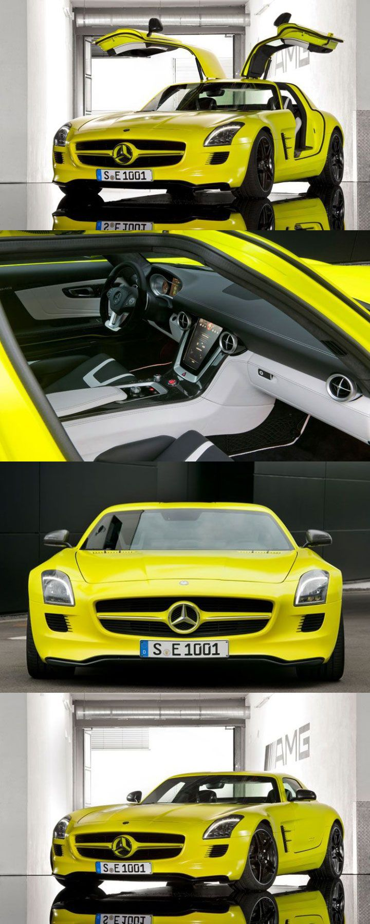 Sports Cars · SLS AMG E Cell Is Quoted To Have 519 Horsepower, A 0 60