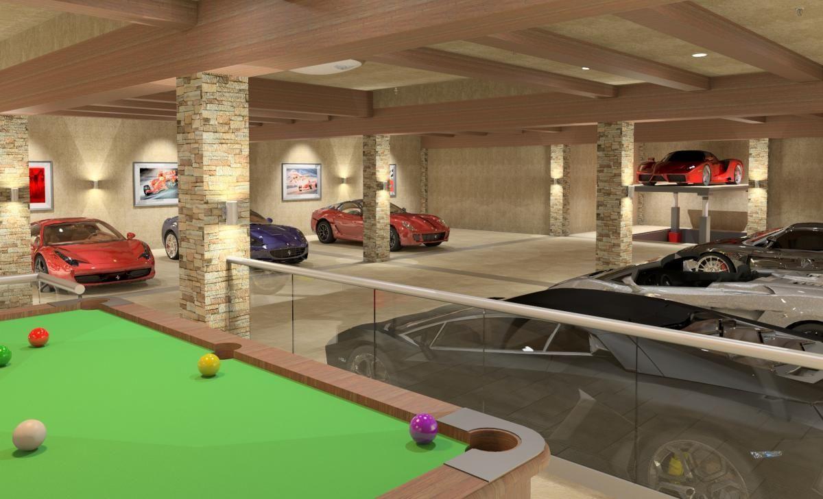 Private Luxury Garage | Garage in 2019 | Garage design ...