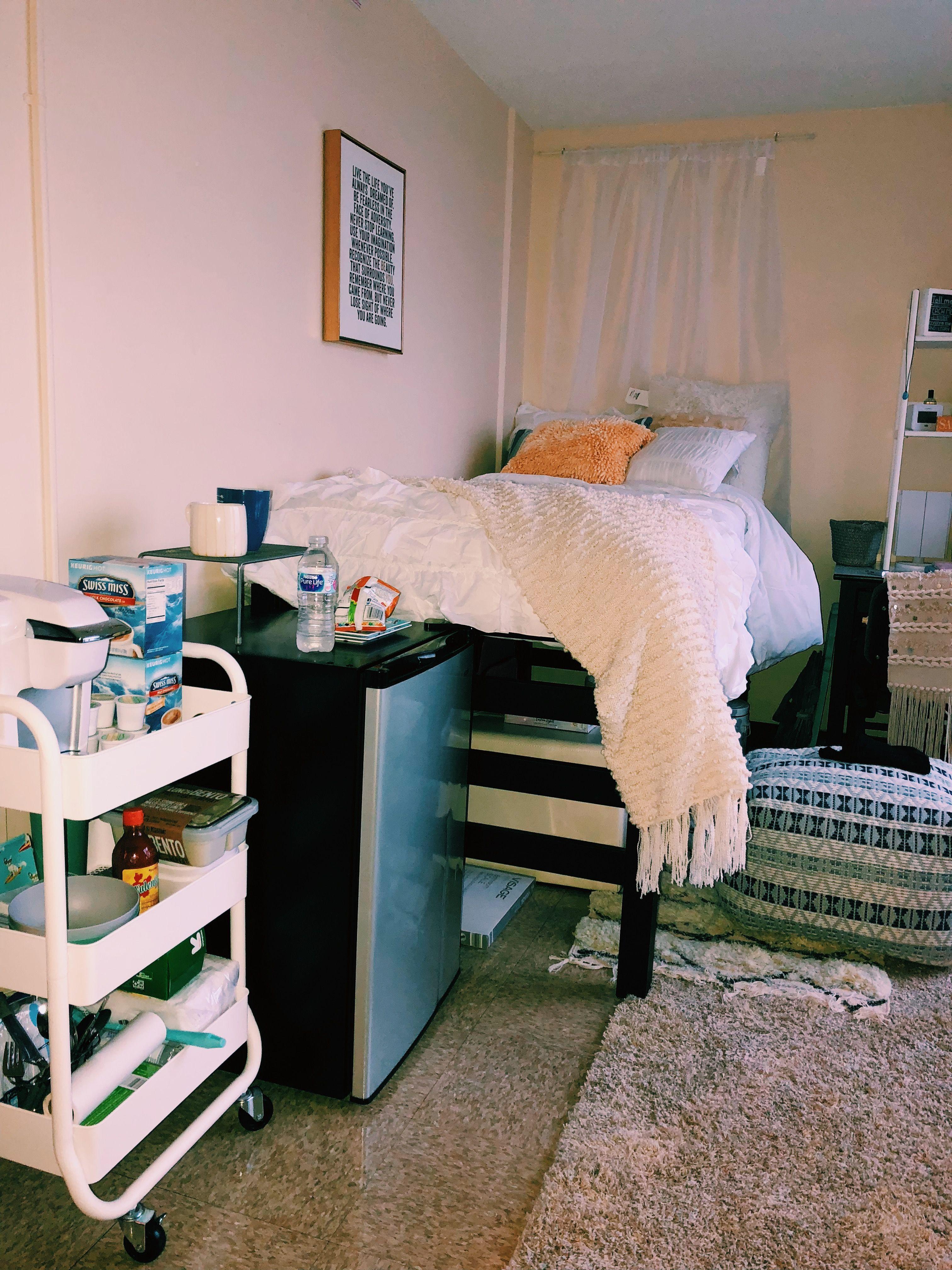 Dorm Room At Illinois State University Girls Dorm Room College Dorm Room Decor Dorm Bedroom