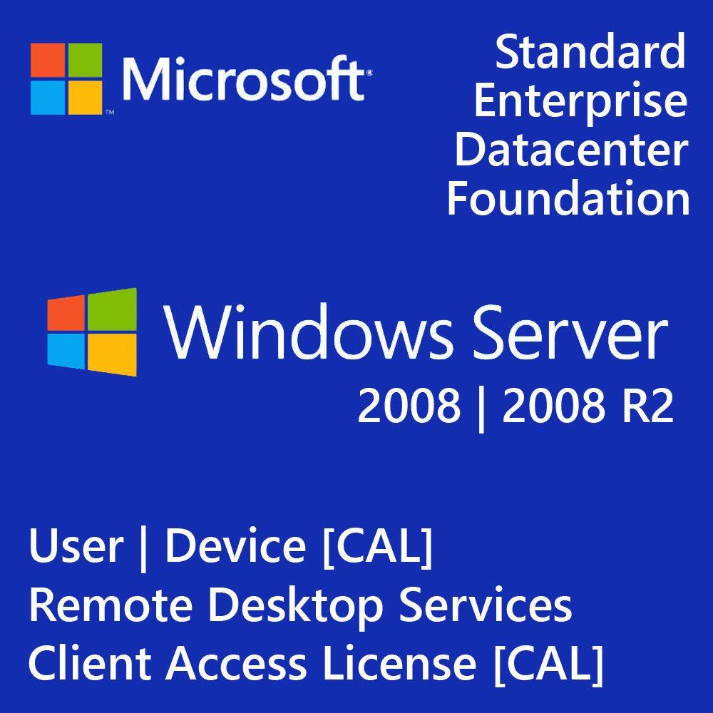Microsoft Windows Server 2016 Remote Desktop Services RDS 10 USER CAL License