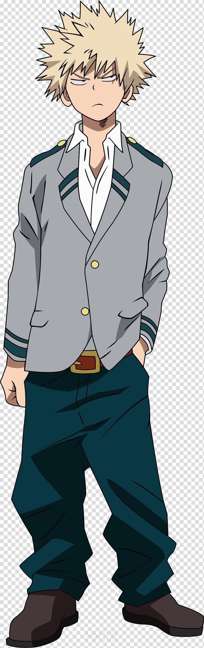 Katsuki Bakugou Transparent Background Png Cliparts Free Download Hiclipart Anime My Hero Boy Cartoon Characters