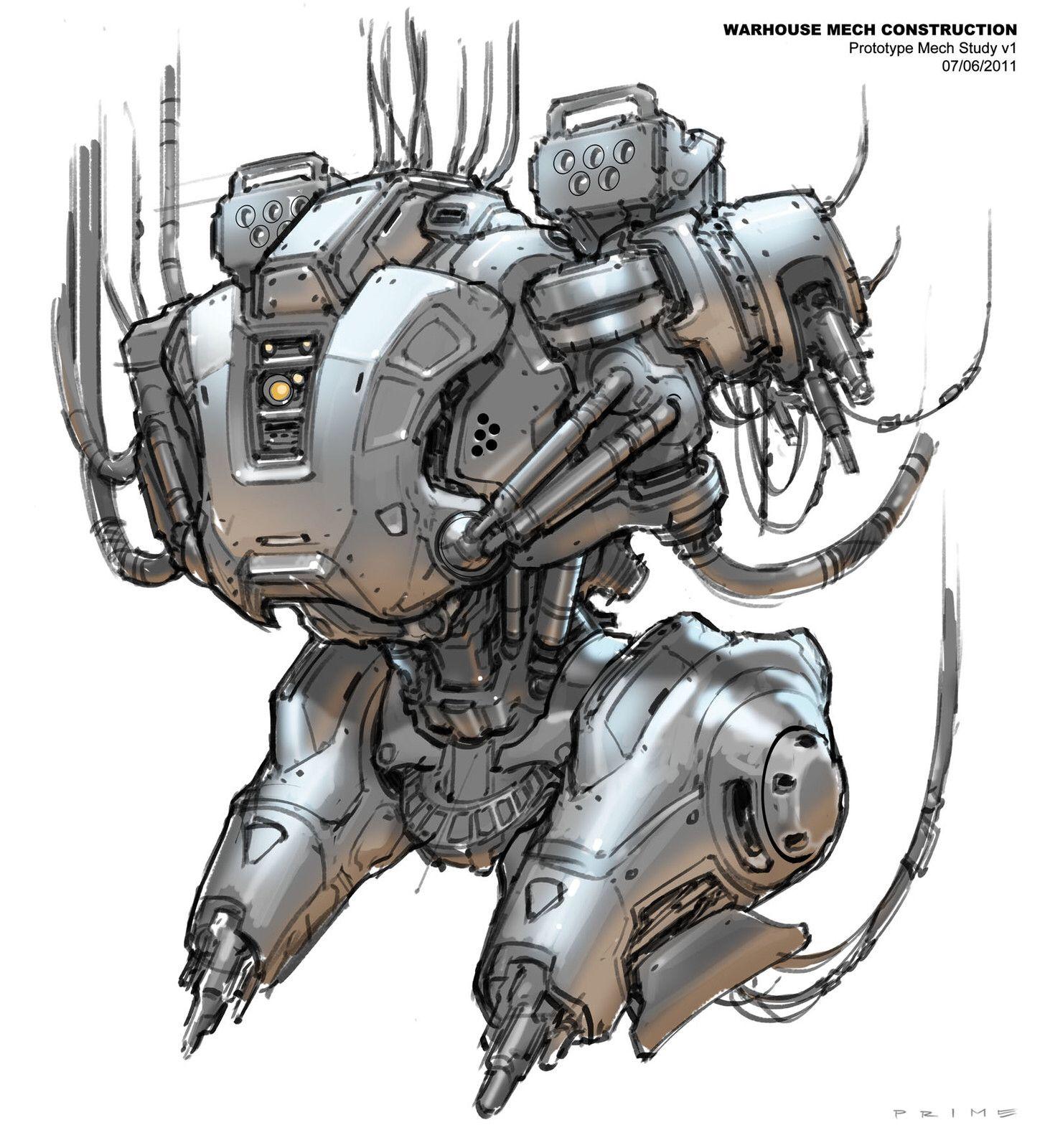 Lead Concept Artist - Certain Affinity   Mech, Halo 4 ...