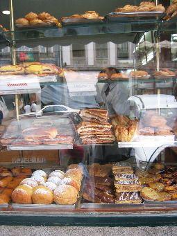 Padaria Rebeiro. My favorite Portuguese pastry shop in Porto!