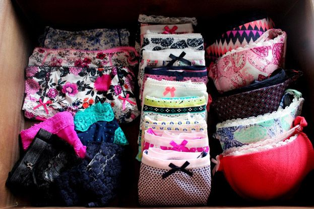 How To Organize Dresser Drawers Clothes Organization Ideas