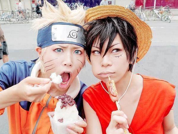 Naruto & Luffy