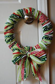19+ Fabric christmas wreath information