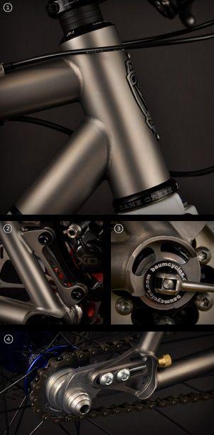 Extensa frame details
