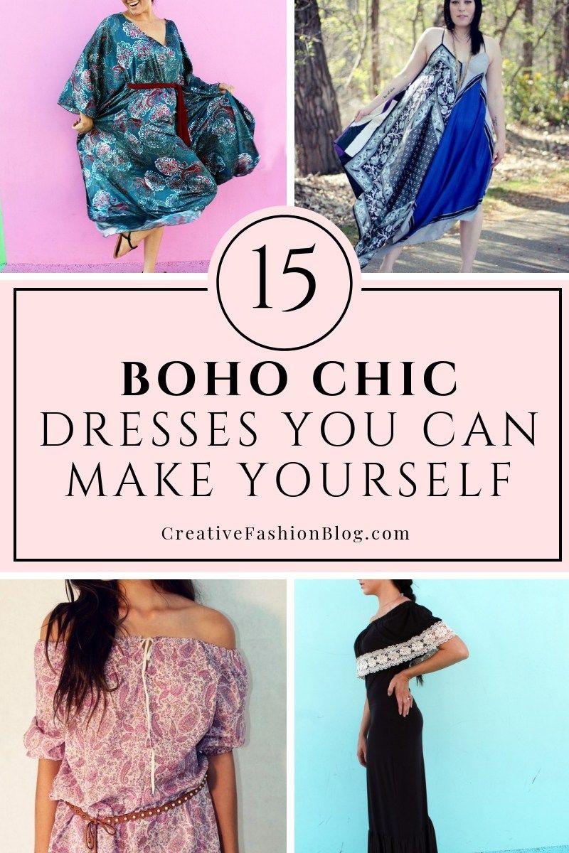 Bohemian Style Diy Bohemian Outfit