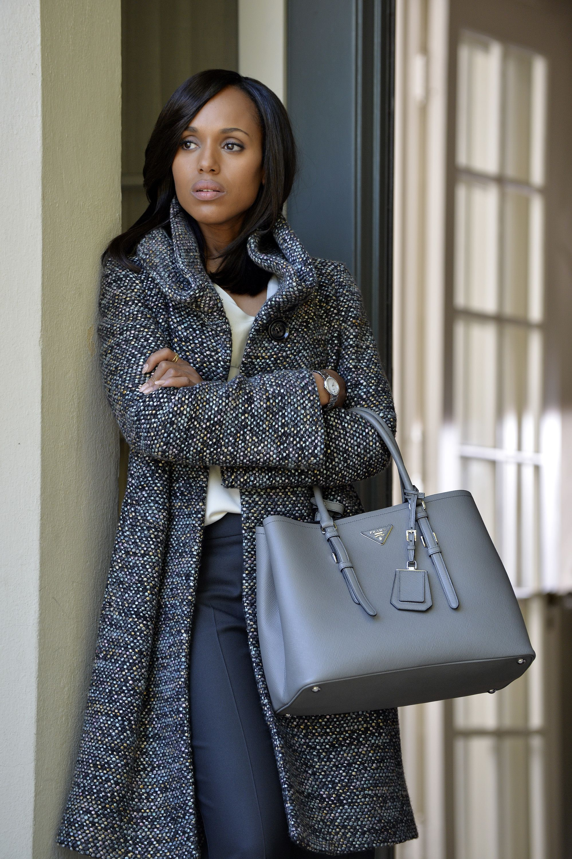 24a508abea59 9 Looks That Prove Olivia Pope Has The Best Coat Game on Television ...
