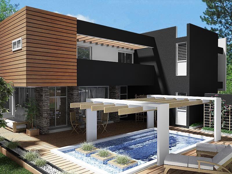 Pintura para casas peque as exterior buscar con google for Arquitectura moderna casas pequenas