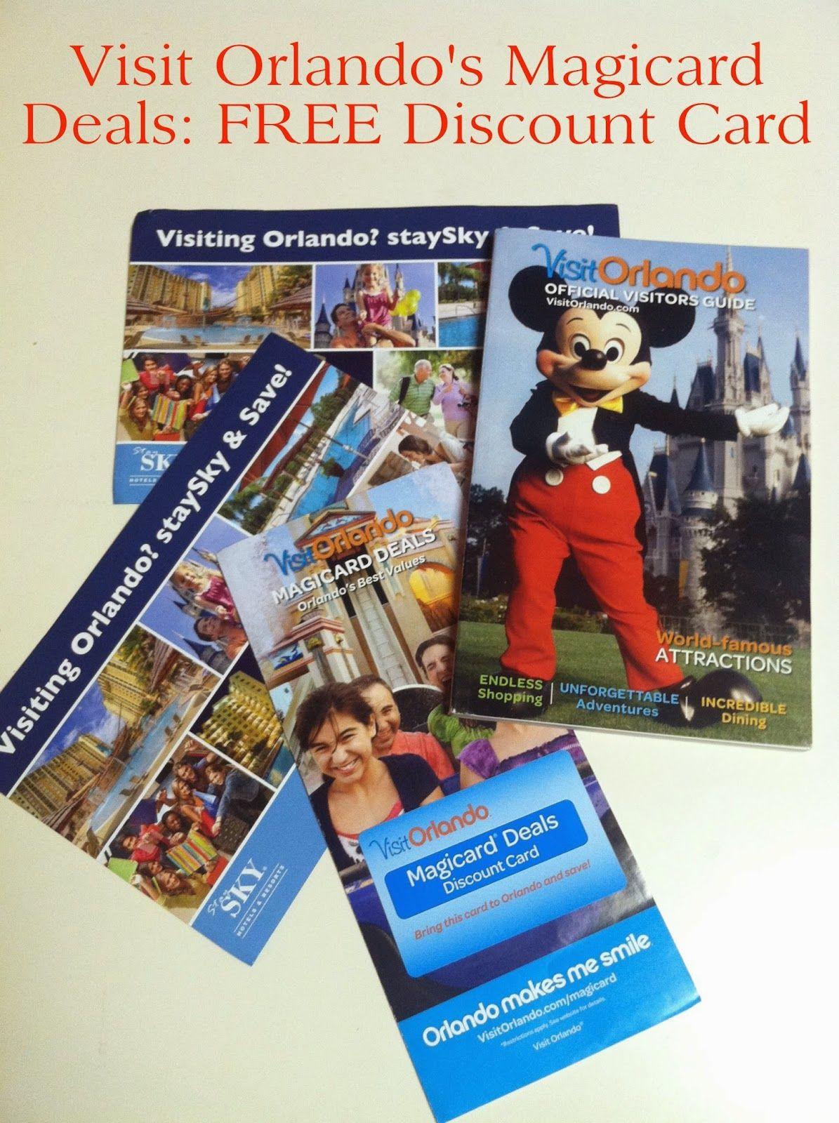 Walt Disney World Freebie Friday: Orlando Magicard | A Disney ...